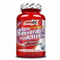 Antioxidante Pure Resveratrol Anti-Ox 60 cápsulas de Amix
