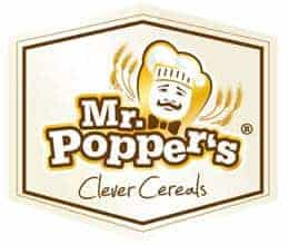 Logotipo cereales MrPoppers