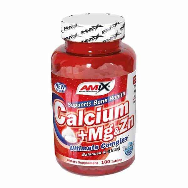 Complemento vitamínico Calcio-Magnesio-Zinc de Amix