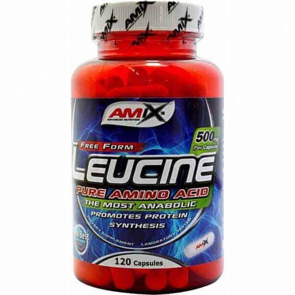 Suplemento aminoácido Leucine 120 cápsulas de Amix