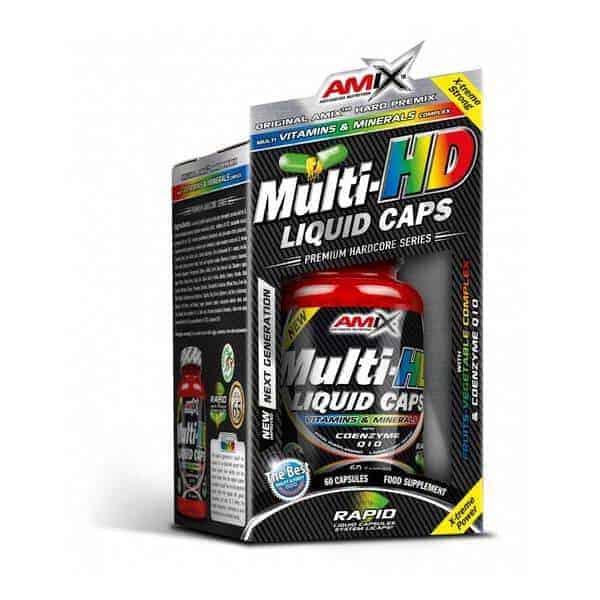 Suplemento vitamínico Multi-HD Liquid Caps 60 cápsulas