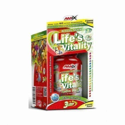 Life's Vitality 60 tabls de Amix es un complejo de vitaminas