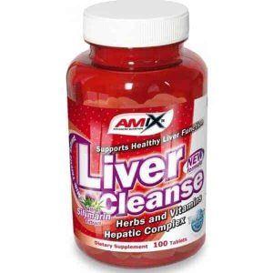 Protector hepático deportistas Liver Cleanse 100 cápsulas