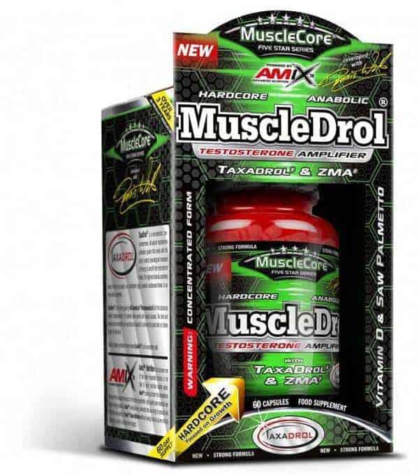 Muscledrol de Amix con taxadrol