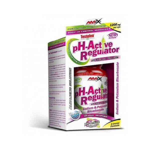 Complemento nutricional PH Active Regulator 120 cápsulas de Amix
