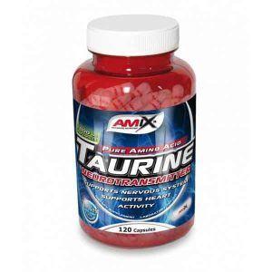 Suplemento energético Taurine 120 cápsulas de Amix