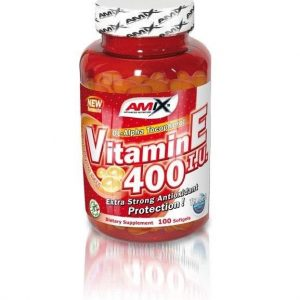 Suplemento vitamínico Vitamin E 400 100 cápsulas de Amix