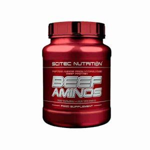 Beef Aminos Scitec Nutrition aminoácidos esenciales
