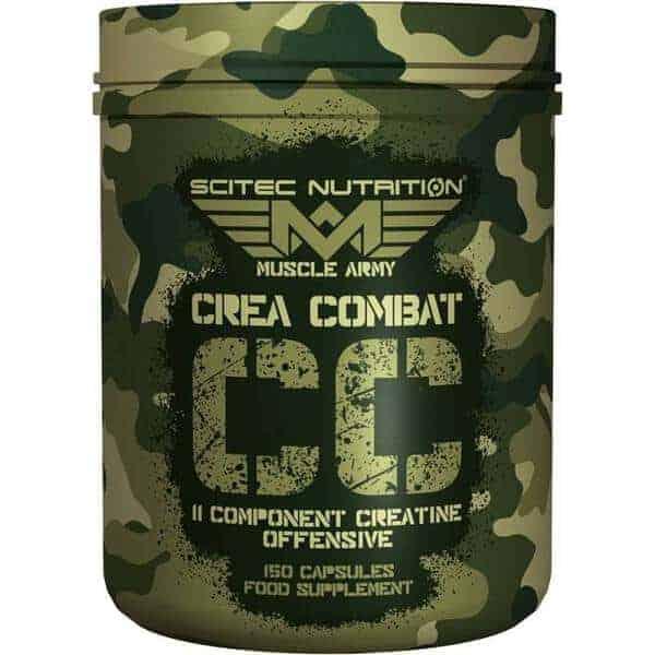 Suplemento deportivo creatina Crea Combat 150 cápsulas de Scitec