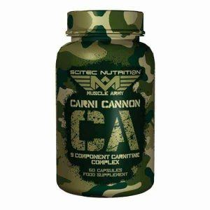 Suplemento alimenticio Carni Cannon 60 cápsulas
