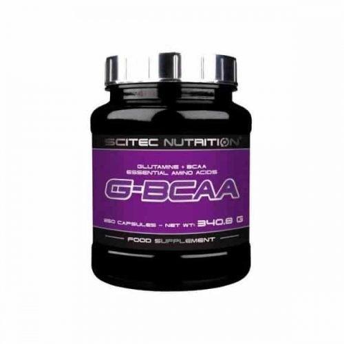 g bcaa 250 capsulas scitec nutrition aminoacidos