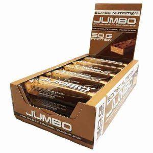 Suplemento proteinas Jumbo bar 100 gr