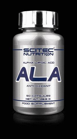 Antioxidante Ala 50 cápsulas de Scitec Nutrition