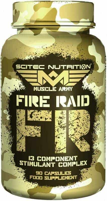 scitec fire raid 90 caps