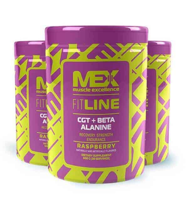 Aminoácido CGT+Beta Alanina 600 gr de Mex