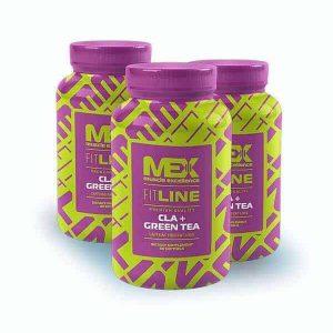 Reductor grasa corporal CLA Green Tea MEX 90 cápsulas