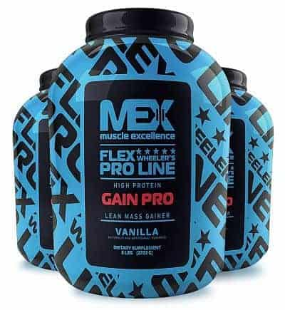 Gain Pro Mex muscle excellence