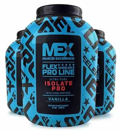 Isolate Pro de Mex Muscle Excellence