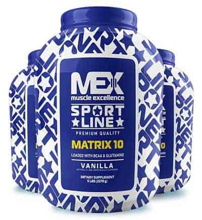 Matrix 10 de Mex Muscle Excellence