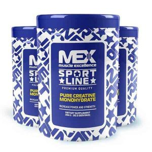 Pure creatine 454 gr de mex muscle excellence
