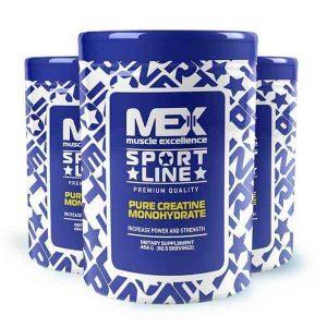 Pure creatine 454 gr de mex muscle excellence