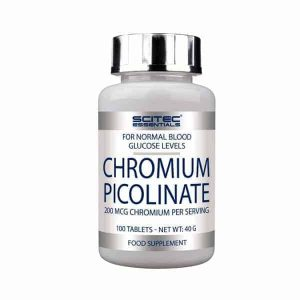 Chromium Picolinate 100 Tabs Scite Nutrition