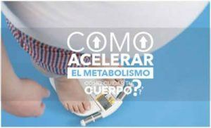 ¿Cómo activar tu metabolismo?