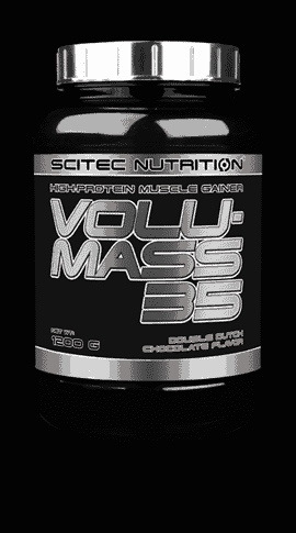 Nutrientes para aumento muscular Volumass 35