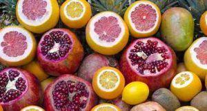 frutas para una nutricion saludable