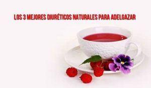diuréticos naturales para adelgazar