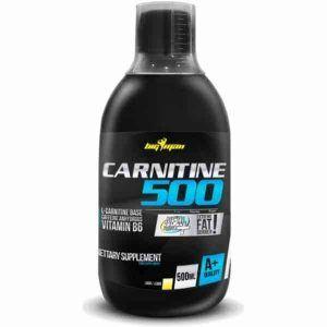 Composición líquida quemagrasas Carnitine 500