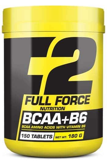 Aminoácidos para mejorar los entrenamientos full force bcaa b6