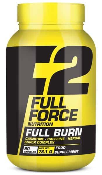 Suplemento para deportistas con ácido hidroxicítrico y galato de epigalocatequina full burn