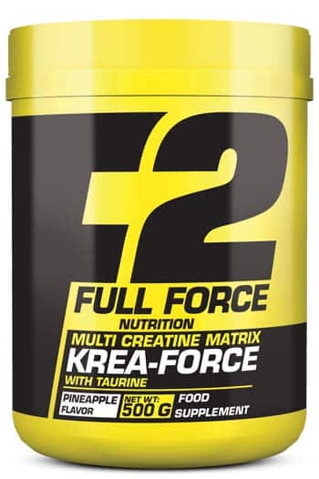 Compuesto de creatina y taurina Krea Force 500 gr full force