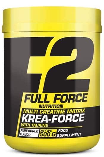 Compuesto de creatina y taurina Krea Force 500 gr full force