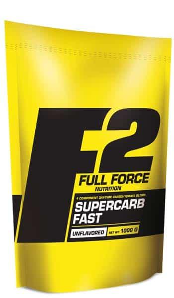 Almidón de maiz, maltodextrina, dextrosa y fructosa Supercarb Fast