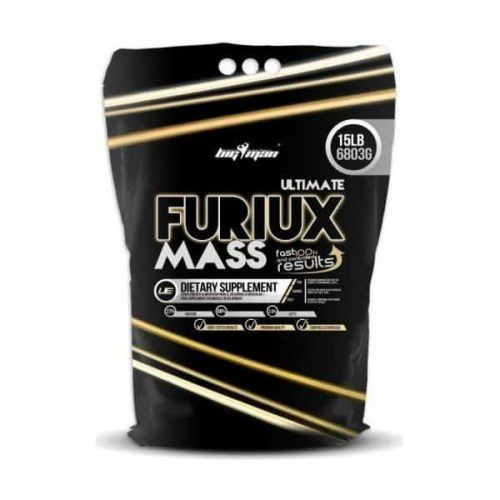 Ultimate furiux mass Gainer para deportistas