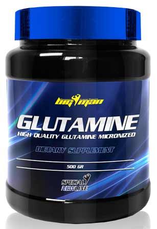 Aminoácido Glutamina 500 gr de Bigman