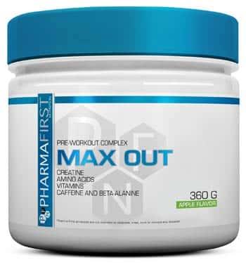suplemento alimenticio para conseguir un trabajo de musculación más eficiente Max Out