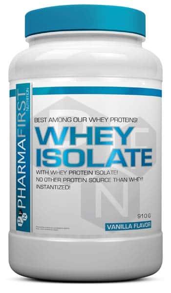 Suplemento para aumentar porcentaje de proteina whey isolate