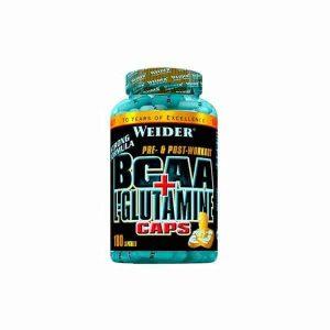 BCAA L-Glutamina 180 Caps de Weider