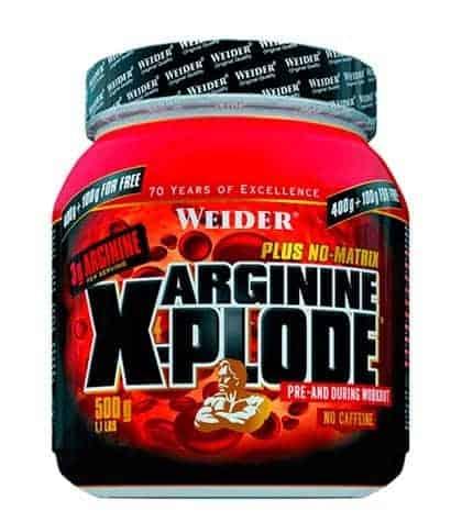 complemento alimenticio para deportistas Arginine X-Plode