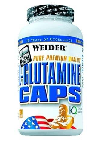 suplemento deportivo L-Glutamine Caps