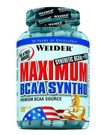 aminoácidos ramificados Maximum Bcaa Syntho