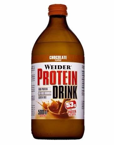 bebida proteínica protein drink weider