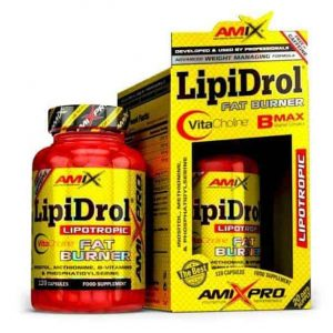 LipiDrol Fat Burner de Amix Pro un quemagrasas sin estimulates para controlar tu peso corporal.