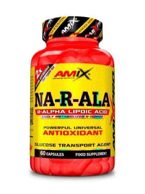 Suplemento Antioxidante NA-R-ALA de Amix Pro