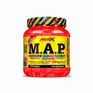 MAP Muscle amino power de Amix PRO aminoácidos esenciales