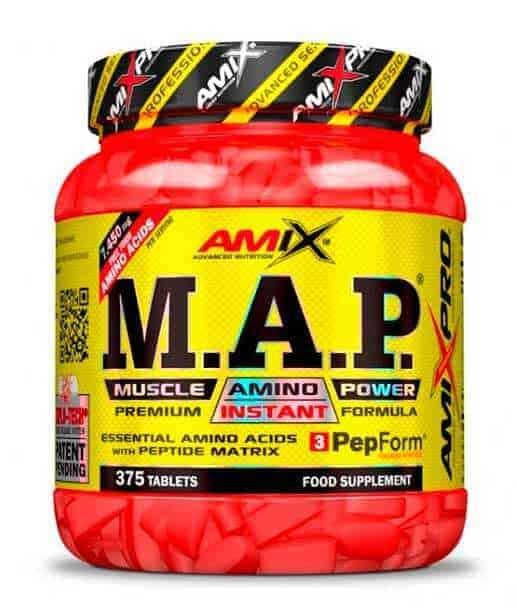 M.A.P. Muscle Amino Power son aminoácidos esenciales de Amix Pro