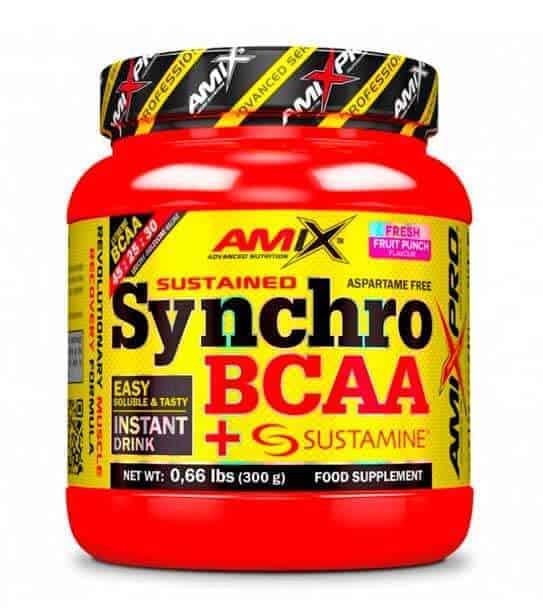 Synchro BCAA + Sustamine drink de amix pro para una recuperación muscular